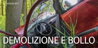 Demolizione bollo auto non pagato: è possibile davvero?