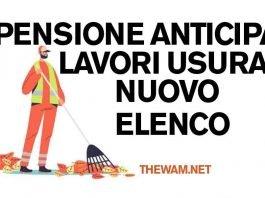Lavori usuranti e pensione anticipata: il nuovo elenco
