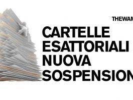 Nuova sospensione delle cartelle esattoriali
