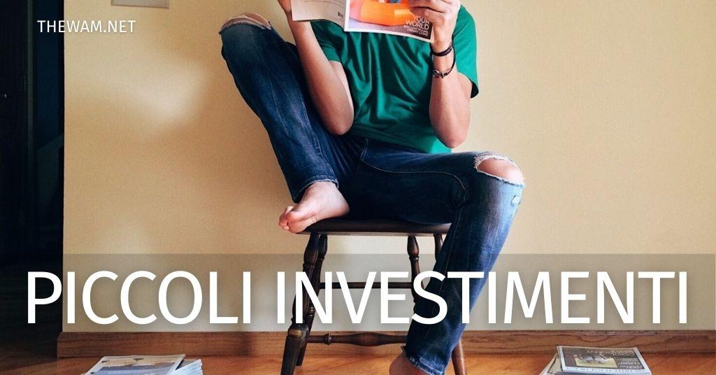 Piccoli investimenti per giovani: ecco 3 suggerimenti utili