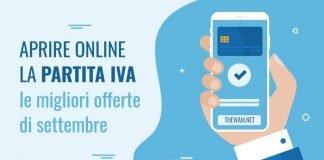 Aprire Partita Iva online, migliori offerte a settembre 2021