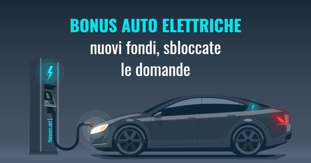Bonus auto 2021 rifinanziato per le auto elettriche