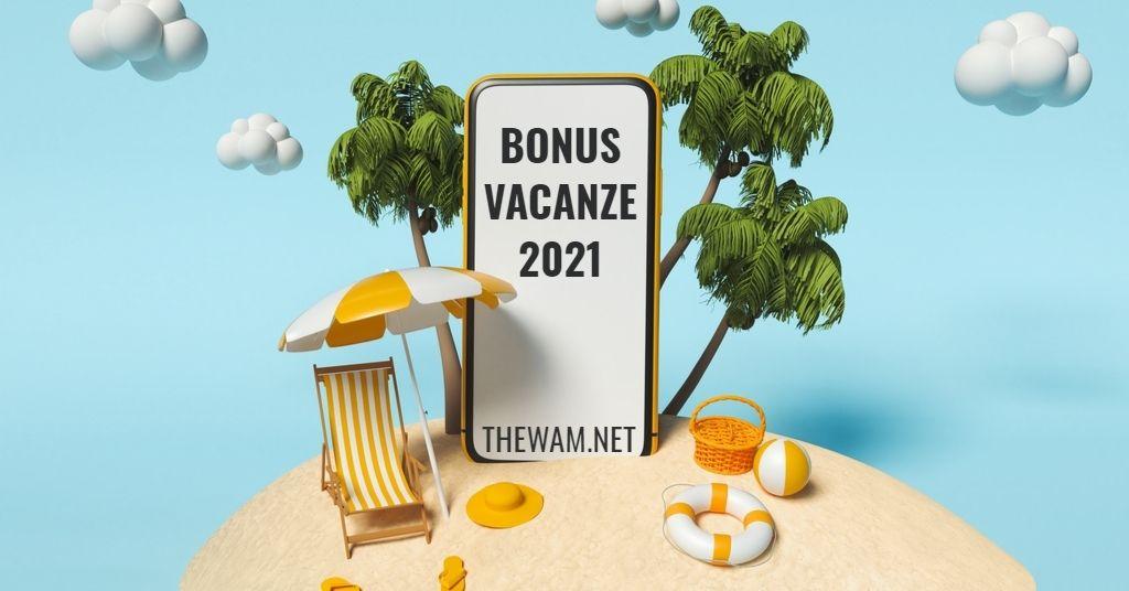 Bonus vacanze 2021, nuove regole dell'Agenzia delle Entrate