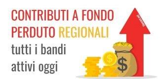 Contributi a fondo perduto Partite Iva: i bonus regionali