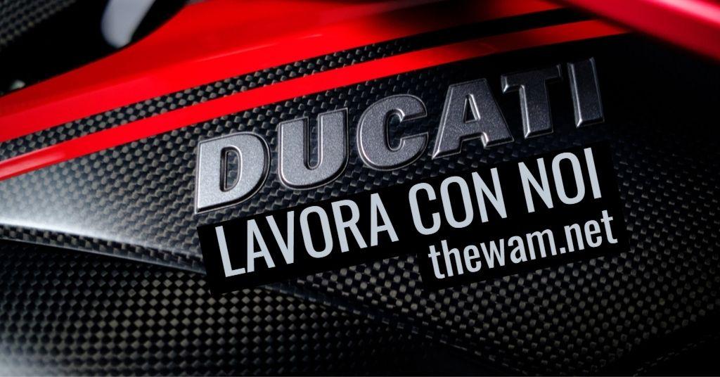 Ducati lavora con noi: posizioni aperte a settembre 2021