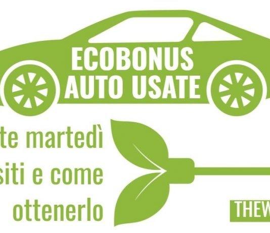 Ecobonus auto usate, si parte martedì. Ecco come funziona