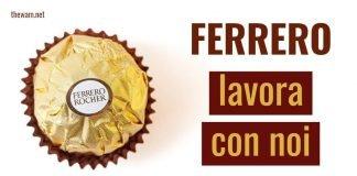 Ferrero lavora con noi: posizioni aperte a settembre 2021