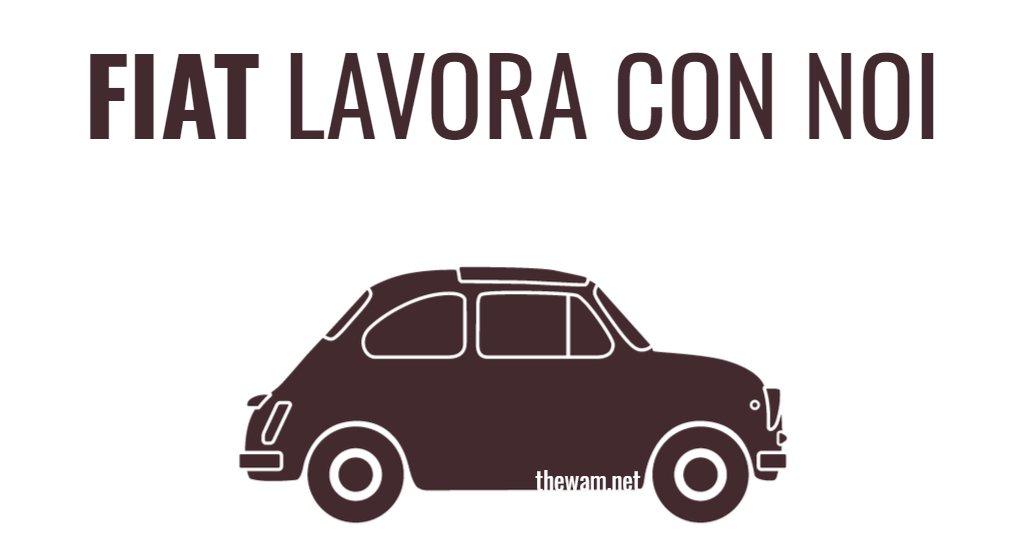 Fiat lavora con noi: posizioni aperte a settembre 2021