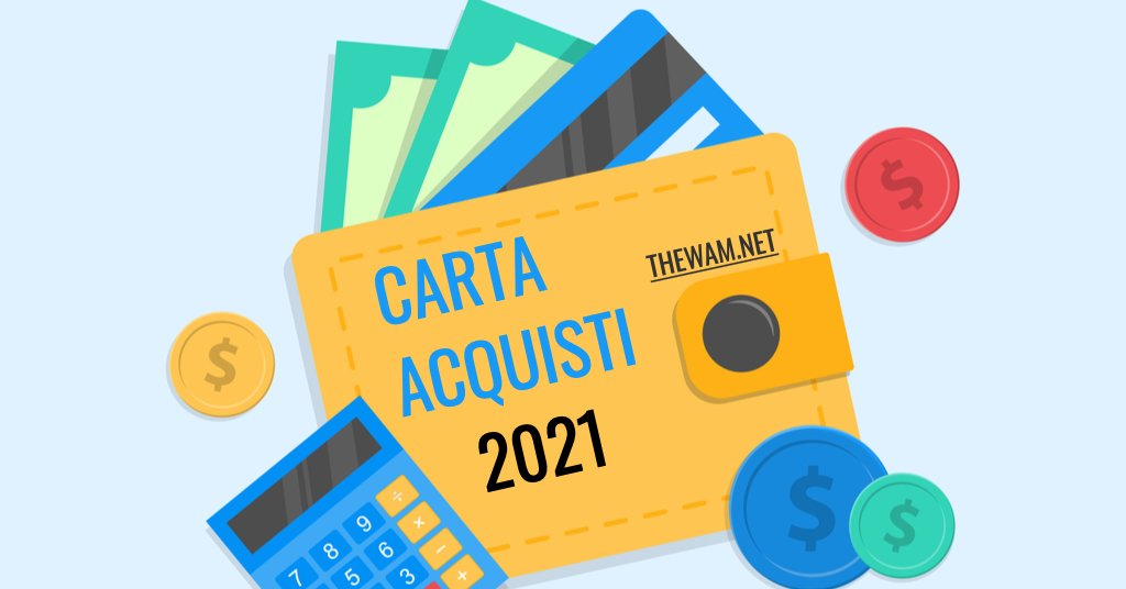 pagamenti carta acquisti 2021 settembre date