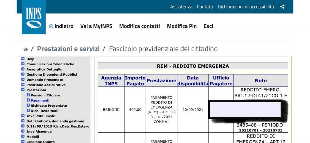 pagamenti reddito di emergenza 2021 date luglio-