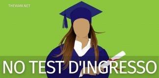 Università senza test di ingresso 2021: tutti i corsi
