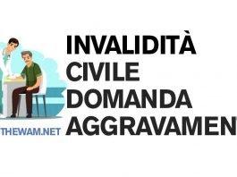 Domanda di aggravamento dell'invalidità civile