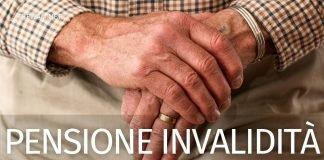 Pensione di invalidità 2021