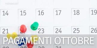 Stato pagamenti Inps ottobre: date pensioni, Rem, RdC