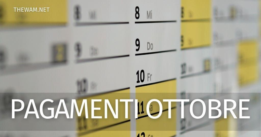Stato pagamenti Inps ottobre: date Rem, RdC, Assegno Unico