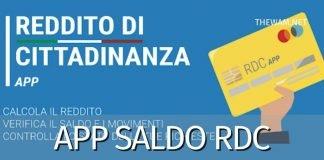 Reddito di Cittadinanza sull'app Postepay: uso e saldo